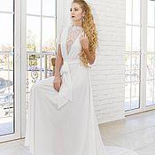 Одежда ручной работы. Ярмарка Мастеров - ручная работа Платье белое в бохо стиле, арт 1522. Handmade.