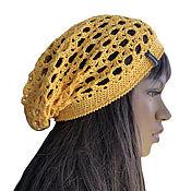 Аксессуары handmade. Livemaster - original item Women`s openwork hat Sunny summer. Handmade.