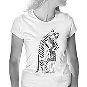 Одежда handmade. Livemaster - original item T-shirt Dangerous love. Handmade.