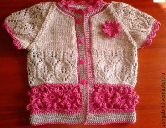 Одежда для девочек, ручной работы. Ярмарка Мастеров - ручная работа. Купить болеро девочке. Handmade. Комбинированный, девочке, фуксия, люрекс