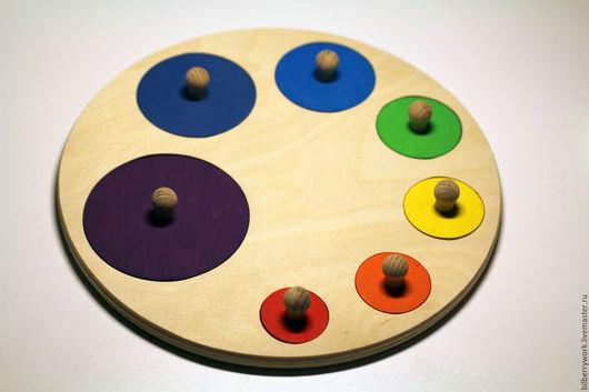 """Развивающие игрушки ручной работы. Ярмарка Мастеров - ручная работа. Купить Развивающая игрушка """"Палитра"""". Handmade. Развивающая игрушка, бук"""