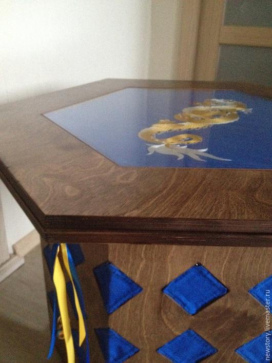 """Мебель ручной работы. Ярмарка Мастеров - ручная работа. Купить Столик для рисования """"Воздушный Дракон"""". Handmade. Стол, стол из дерева"""