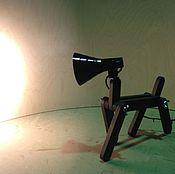 Для дома и интерьера ручной работы. Ярмарка Мастеров - ручная работа Настольная лампа СОБАКА. Handmade.