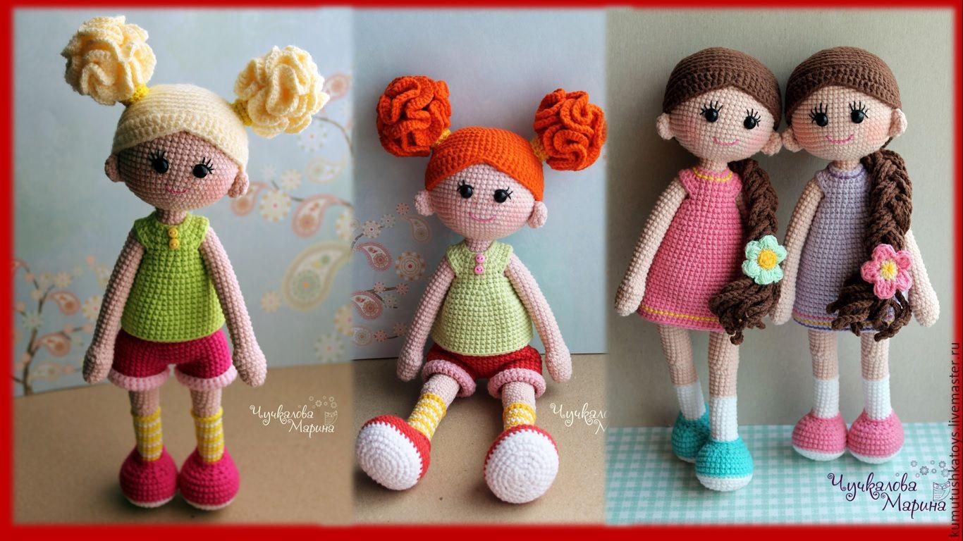 Вязание крючком куклы амигуруми мастер класс 16