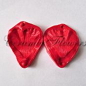 Материалы для творчества handmade. Livemaster - original item Silicone mold (Weiner) petal mallow ,bilateral. Handmade.