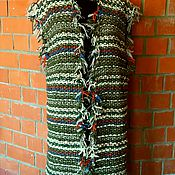 Vests handmade. Livemaster - original item Vest knit knitting. Handmade.