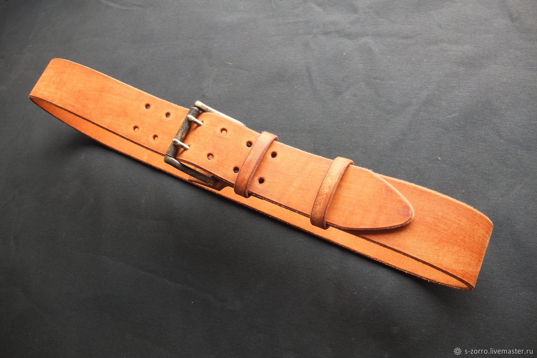 Belt men's 50 mm, Straps, Moscow,  Фото №1