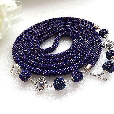 Decorations handmade. Livemaster - original item Lariat harness bead