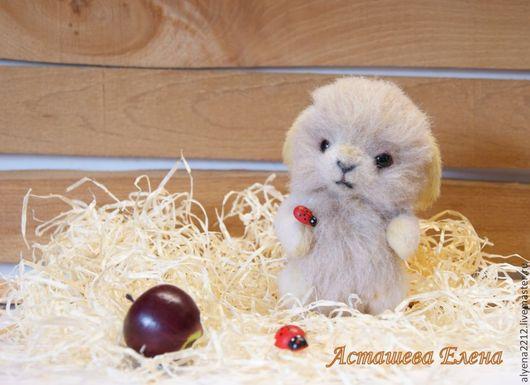 Мишки Тедди ручной работы. Ярмарка Мастеров - ручная работа. Купить Кролечка Викки. Handmade. Бежевый, зайка, подарок женщине