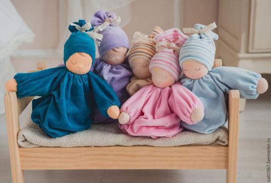 Куклы и игрушки ручной работы. Ярмарка Мастеров - ручная работа. Купить Набор для шитья вальдорфской куколки - сплюшки. Handmade. Комбинированный