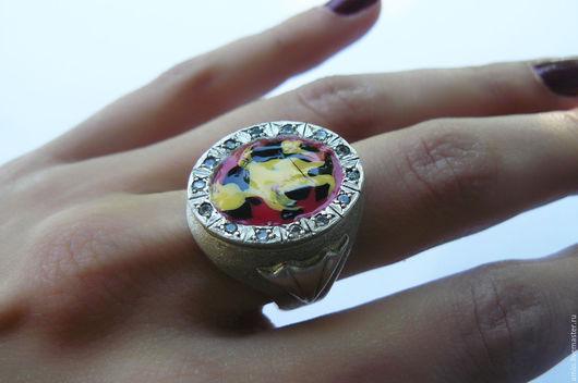 Кольца ручной работы. Ярмарка Мастеров - ручная работа. Купить перстень для королевы. Handmade. Крупный перстень, женский перстень