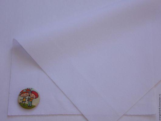 Другие виды рукоделия ручной работы. Ярмарка Мастеров - ручная работа. Купить Велкроткань неклеевая Белая. Handmade. Белый, велкро
