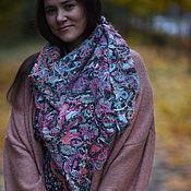 Аксессуары handmade. Livemaster - original item Neck scarf warm large bird of Paradise. Handmade.
