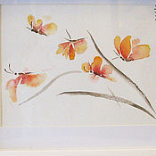Картины и панно ручной работы. Ярмарка Мастеров - ручная работа Картина_Полет Орхидей. Handmade.