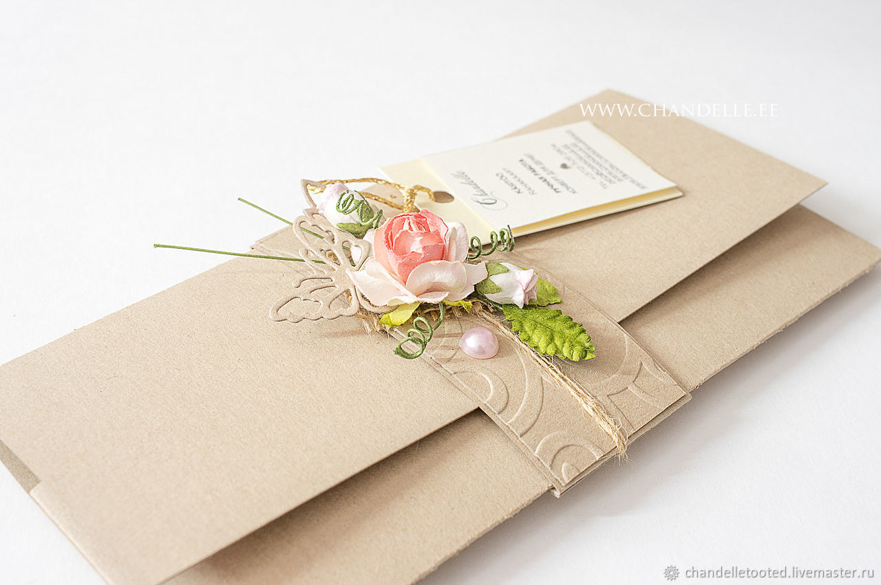 handmade envelope wedding envelope birthday envelope