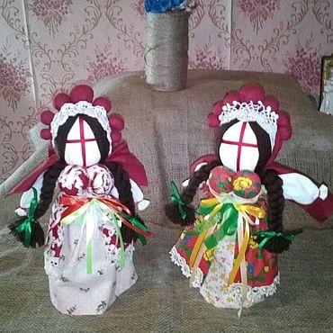 """Куклы и игрушки ручной работы. Ярмарка Мастеров - ручная работа Лялька - мотанка """"Вишенька"""". Handmade."""