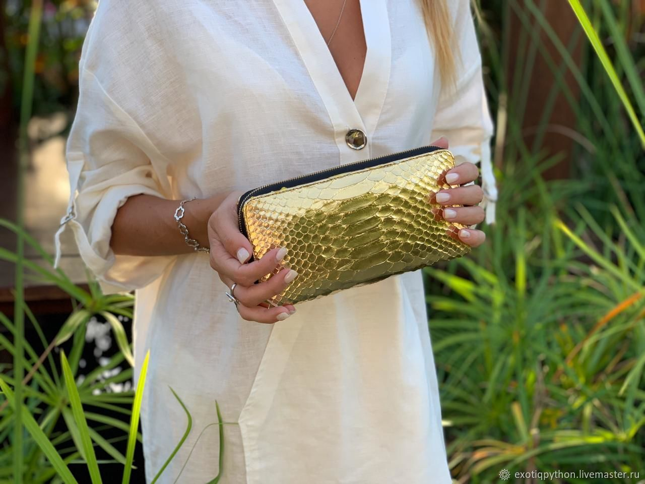 The wallet is made of Python skin, Wallets, Moscow,  Фото №1