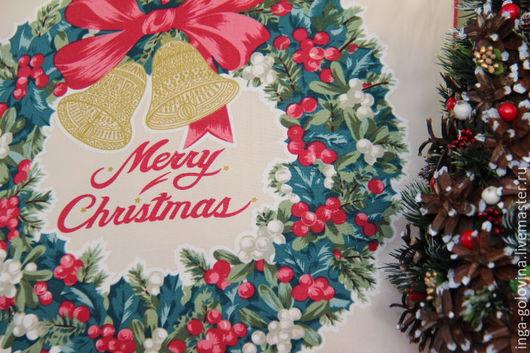 Текстиль, ковры ручной работы. Ярмарка Мастеров - ручная работа. Купить Новогодние наволочки С Рождеством. Handmade. Комбинированный