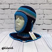 Аксессуары handmade. Livemaster - original item Winter helmet double (insulated, double-sided). Handmade.