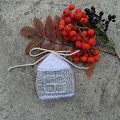 Подарки к праздникам ручной работы. Ярмарка Мастеров - ручная работа Елочная игрушка Домик под снегом. Handmade.