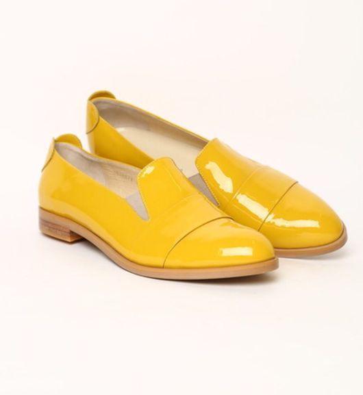 Обувь ручной работы. Ярмарка Мастеров - ручная работа. Купить Лоферы горчичного цвета. Handmade. Лоферы, обувь на заказ