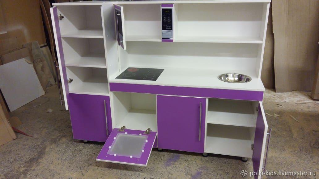 Детская игровая кухня фиолетовая, Кухни, Санкт-Петербург,  Фото №1