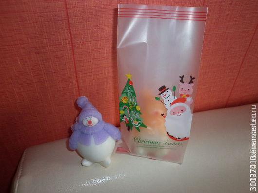 Упаковка ручной работы. Ярмарка Мастеров - ручная работа. Купить Новогодний пакет для упаковки подарка.. Handmade. Комбинированный, упаковка подарочная