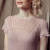 Одежда ручной работы. Ярмарка Мастеров - ручная работа Нежно-розовое платье. Handmade.
