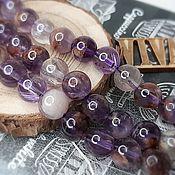 Материалы для творчества handmade. Livemaster - original item Melodite (quartz seven melodies) 8 mm smooth bead (4186-8). Handmade.