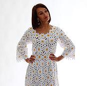 Одежда ручной работы. Ярмарка Мастеров - ручная работа платье Ромашки. Handmade.