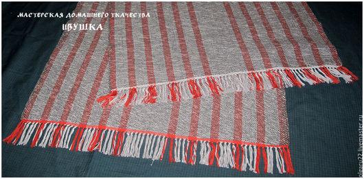 Текстиль, ковры ручной работы. Ярмарка Мастеров - ручная работа. Купить Домотканая дорожка темно-серая. Handmade. Комбинированный, половик