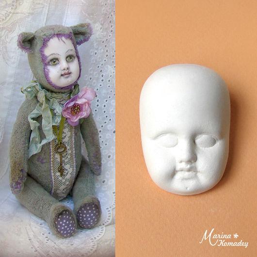 Куклы и игрушки ручной работы. Ярмарка Мастеров - ручная работа. Купить Личико № 14. Handmade. Белый, заготовки для кукол