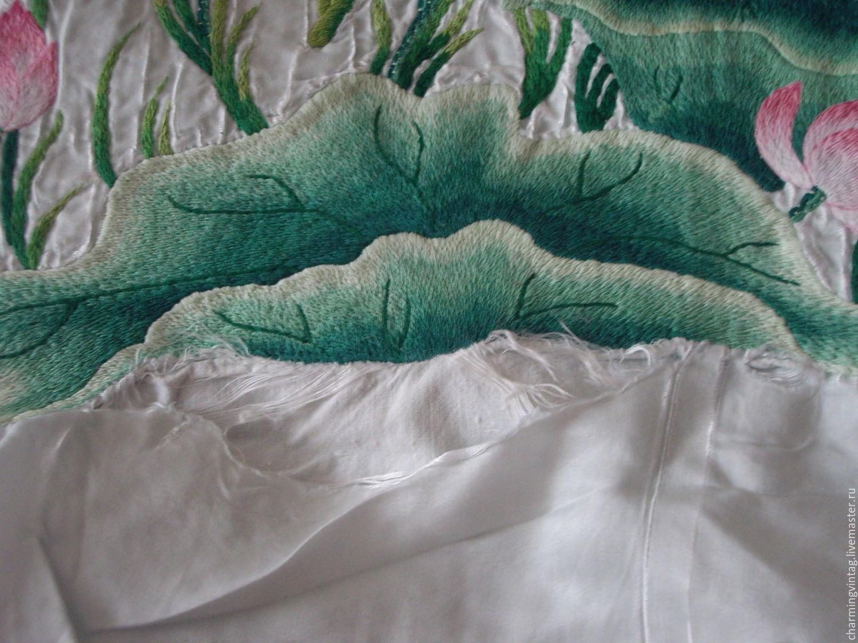 Шелковые покрывала с вышивкой