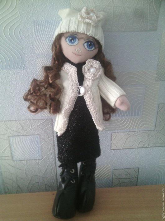 Куклы Тильды ручной работы. Ярмарка Мастеров - ручная работа. Купить Текстильная кукла. Handmade. Бежевый, интерьерная кукла