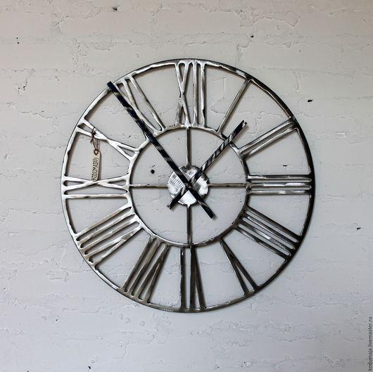 """Часы для дома ручной работы. Ярмарка Мастеров - ручная работа. Купить Часы 60см с ручной шлифовкой """"Rooma-lihvitud"""" увеличенные стрелки. Handmade."""