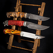 Сувениры и подарки handmade. Livemaster - original item Foldable stand for fixed knives made of oak. Handmade.