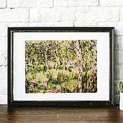 Картины и панно handmade. Livemaster - original item Painting Landscape With Birch Trees Levitan. Handmade.