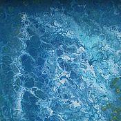 Картины и панно ручной работы. Ярмарка Мастеров - ручная работа Картина абстракция Океан. Handmade.