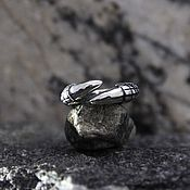 Украшения handmade. Livemaster - original item Claw Ring of silver 925. Handmade.