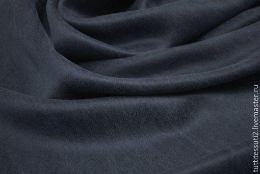 Шитье ручной работы. Ярмарка Мастеров - ручная работа. Купить Костюмная ткань 05-003-1169. Handmade. Синий