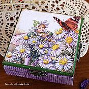 Для дома и интерьера handmade. Livemaster - original item Fairy with butterfly box. Handmade.