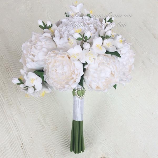 Какой вид жасмина добавляют в букеты свадебные, цветы оптом