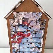 Календари ручной работы. Ярмарка Мастеров - ручная работа Новогодний адвент календарь для детей. Handmade.