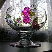 Для дома и интерьера ручной работы. Ярмарка Мастеров - ручная работа Ваза для фруктов. Handmade.