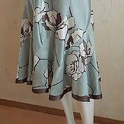 Одежда handmade. Livemaster - original item Silk skirt. Handmade.