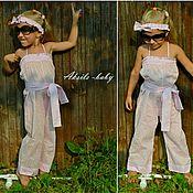 Одежда ручной работы. Ярмарка Мастеров - ручная работа Комбинезон для девочки. Handmade.