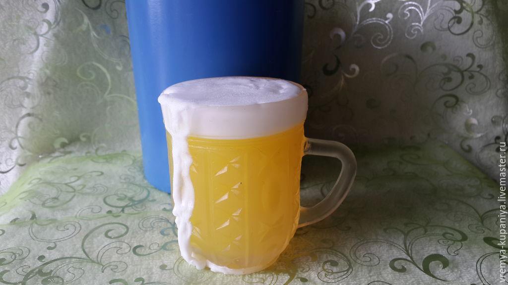 Silicone mold for soap 'Beer mug', Form, Vladivostok,  Фото №1