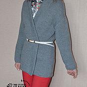 Одежда ручной работы. Ярмарка Мастеров - ручная работа Кардиган из толстой пряжи. Handmade.