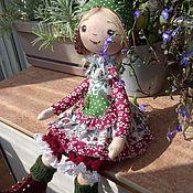 Куклы и игрушки handmade. Livemaster - original item interior doll: Gnome Attic Girl. Handmade.