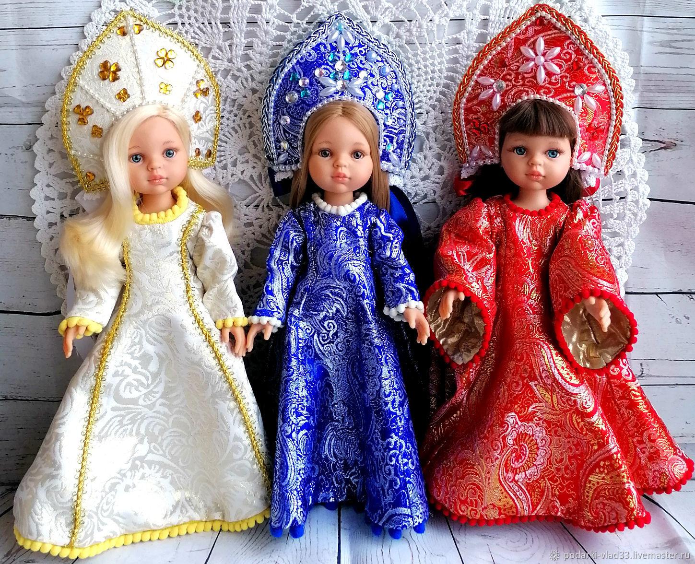 Костюм Снегурочка для Паола Рейна, Одежда для кукол, Владимир,  Фото №1